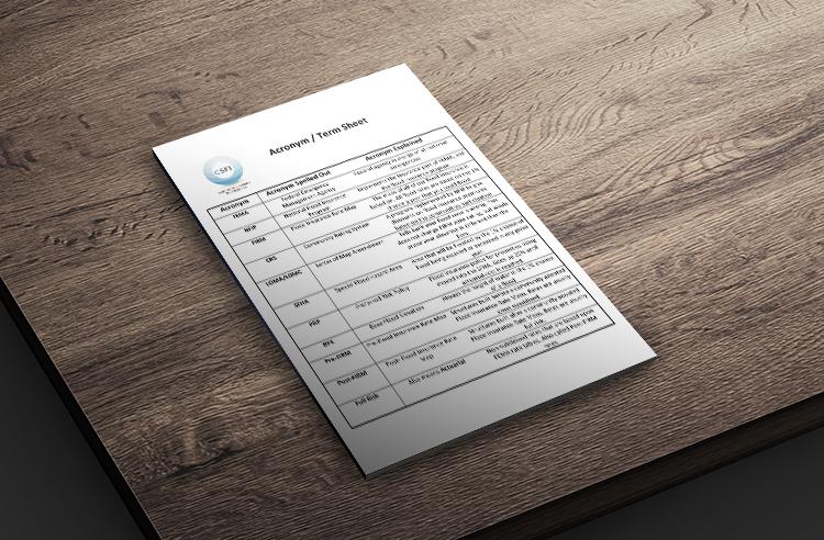 CSFI Term Sheet