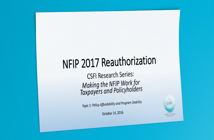 CSFI Affordability Presentation